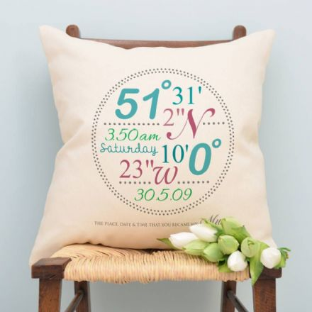 Personalised Mums Cushion